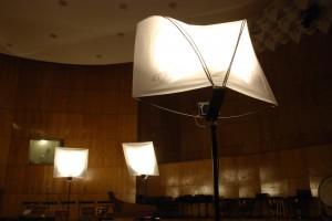 beneficiar - La Follia tema - lampi concert fara radiatii termince pentru - concerte in spatii largi perioada - 2008 lampi independente pe suport Thomann,  becuri 500 W sprafata relectorizanta din PVC tensionata cu montanti de fibra de sticla