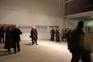 4 lucrari expuse print 2x1m Galeria Calina, Posibil Nesigur nov 2011 - halele Timco