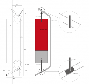 beneficiar - Flexibil tema - display modular gresie - faianta pentru - spatii diverse, ce necesita transport perioada - 2010 materiale - teava otel indoita, piese metalice si plastic, placa de plastic obs: idea de baza este gruparea intr-un manunchi a mai multor module in functie de necesitati: 3-5-6, astfel se pot construi usor diferite disply-uri ce se transporta usor demontat
