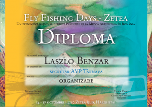 diploma fly fishing days zetea