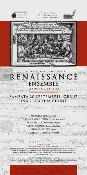 afis concert renaissance 2008