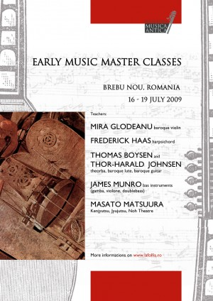 afis early music masterclass, 2009
