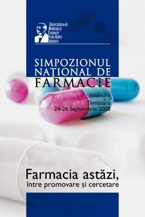 afis medical, simpozionul national de farmacie, farmacia astazi, intre 2008