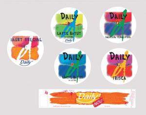 ambalaj iaurt daily 2000