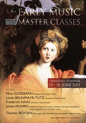 Anunt masterclass Festivalul de Muzica Veche Brebu Nou 2011