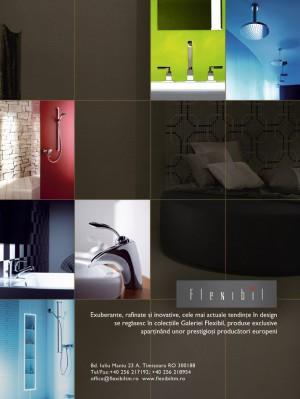 reclama revista de arhitectura, flexibil, 2008