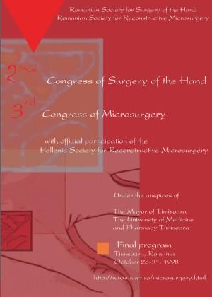 brosura congres chirurgie 1998