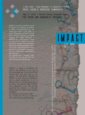 brosura impact mai 2000