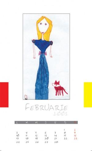 calendar copii 2003