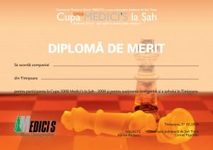 diploma cupa medici's 2008
