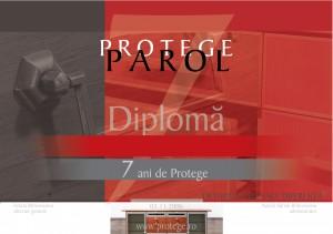 diploma protege parol