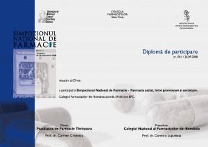 diploma farmacie