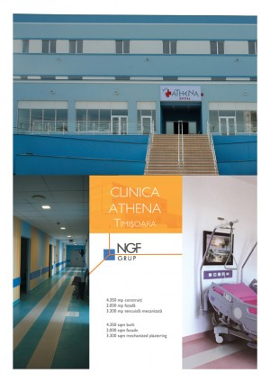fisa clinica athena NGF grup, 2010