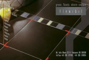 reclama revista de arhitectura, flexibil, 2007