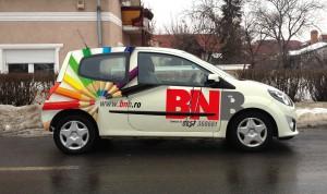 personalizare twingo lateral dreapta, BNB 2012