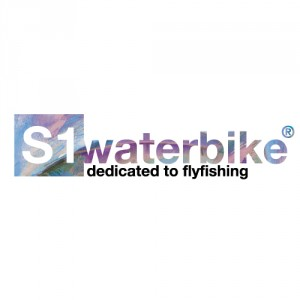 logo s1waterbike, dedicated to flyfishing