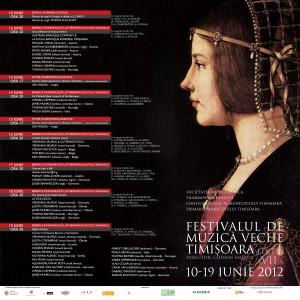 banner Festivalul de Muzica Veche Timisoara 2012
