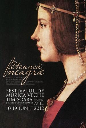 eticheta pentru vinul Festivalului de Muzica Veche, Timisoara 2012